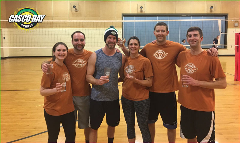 Tuesday Volleyball League Page