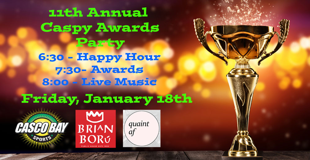 11th Annual Caspy Awards Party - Friday January 18th!